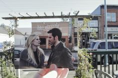 """Davis took a road trip to Steveston, Vancouver — where the show films — with a few friends to make the project. 
