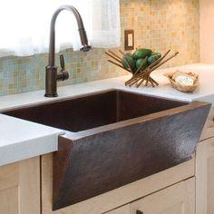 """Native Trails Zuma 33"""" x 22"""" Copper Kitchen Sink Finish: Antique Copper"""