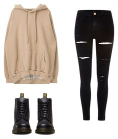 J Hope by elisa-schembre on Polyvore featuring polyvore, fashion, style, River Island, Dr. Martens and clothing