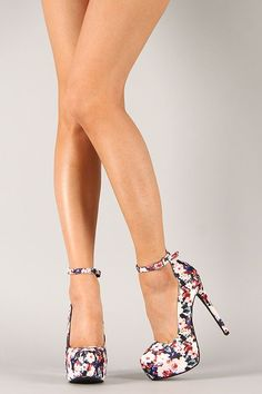eac9a28ef910 Make any outfit blossom with style when you step out in this gorgeous pump…