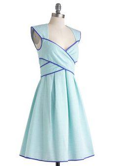 Side Bay Side Dress in Sea, #ModCloth