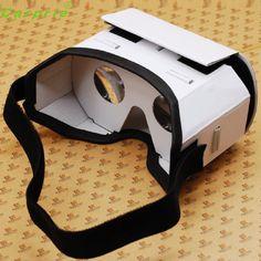 New 3D Google VR Box Virtual Reality Glasses Cardboard Game Movie for Smart Phone Nov14
