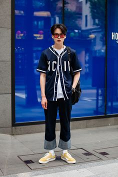 TOP | H&M PANTS | ANDERSSON BELL SHOES | CHISWICK BAG | GREATEST SUNGLASSES | BRICKFIRST Street Style Kim Junsoo, Seoul