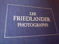 PHOTOGRAPHS / Lee Friedlander http://andthings.exblog.jp/18634405/