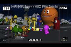 """Sneak peek of the upcoming Pac-man Christmas special, """"Santa Pac's Merry Berry Day"""""""