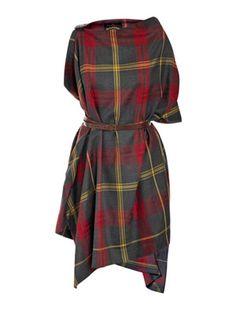 Tartan rectangle dress - Vivienne Westwood