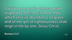 Daily Bible Verse Romans 5:17