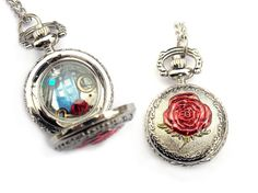 Doctor Who Pocket Watch necklace tribute to Rose Tyler