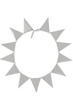 Eddie Borgo Silver-tone necklace