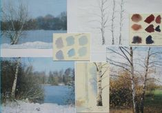 How to Paint White on White - Paint Silver Birches in the Snow | Features | Painters Online