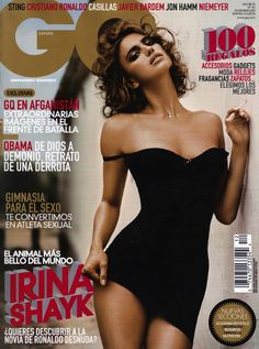 Vincent Peters shoots Irina Sheik for the December 2010 issue of GQ Spain. via itr