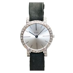 PIAGET Lady's White Gold and Diamond Wristwatch circa 1970s
