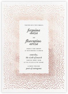 KELLY WEARSTLER X PAPERLESS POST Invitation Gala Wedding