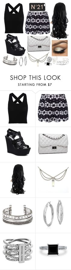 feel free. by mmckenna30 on Polyvore featuring Steve Madden, Bense Bags, Michael Kors, Blue Nile, BERRICLE and N°21