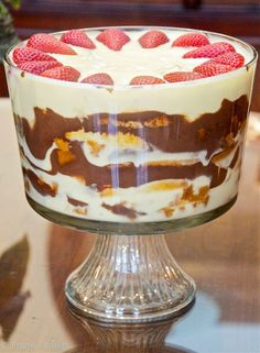 Similar to moscato sabayon, except it uses milk instead of moscato | Zuppa inglese (Italian Trifle)