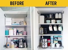 Trendy Home Organization Ideas Closet Organisation 61 Ideas Closet Organisation, Home Organization Hacks, Kitchen Organization, Kitchen Storage, Organizar Closet, Ideas Para Organizar, Drawer Dividers, Small Room Bedroom, Trendy Home