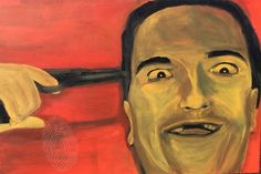 Uncle Chop Chop by Alice Looking Thru Glass   Acrylic on Canvas   People   $850   Bluethumb - Online Art Gallery
