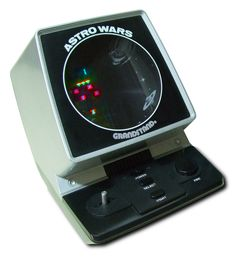 Grandstand Astro Wars - kept me amused for hours, can still remember the tunes