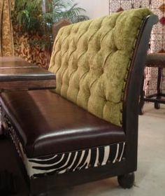 banquette, banquette seating, dining banquette, zebra dining chair,old world, tuscan,