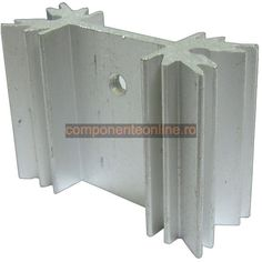 Radiator aluminiu, 35x13x25mm - 131311