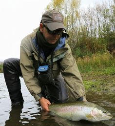 Trout fishing with Gary Lyttle from The New Zealand Flyfishing Company