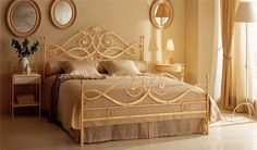 Beautiful bedrooms wrought iron4