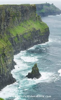 Hiking the Cliffs of Moher