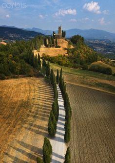 Castello di Romena Pratovecchio, Arezzo, Italy.