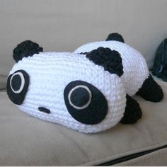 Panda Bear Crochet Pattern $5.99, via Etsy.