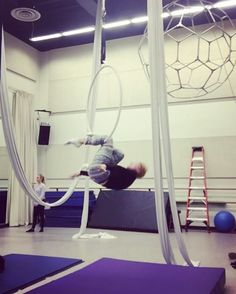 """246 Likes, 11 Comments - Paige Jarreau (@fromthelabbench) on Instagram: """"Part 2. In the air where I belong. #aerialhoop #aerialdance #cirque #circus #circusarts…"""""""