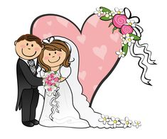 Cartoon Funny Bride And Groom - ClipArt Best