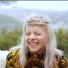 Aurora, the cutest laugh.
