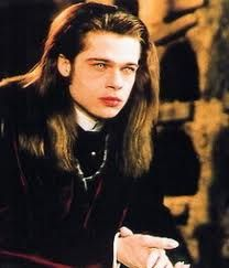 "Brad Pitt vamps it up as Louis de Pointe du Lac in ""Interview with the Vampire"". Vampire Love, Vampire Queen, Vampire Dracula, Vampire Art, Movies Showing, Movies And Tv Shows, Brad Pitt Interview, Brat Pitt, Lestat And Louis"