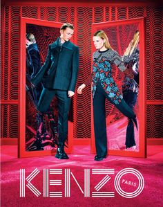 KENZO x Toiletpapr Fall 2014 Ad Campaign