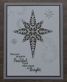 Star of Light stamp set and Starlight thinlits dies from Stampin' Up!