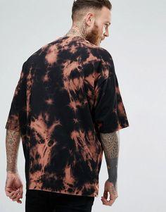 7c493c37 ASOS Super Oversized T-Shirt With Bleach Wash - Black Bleach Wash, Judah  Smith