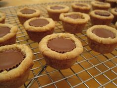 POT PEANUT BUTTER CUP COOKIES - Ready in : 30 mins Prep Time : 15 mins Cook Time : 10 mins Try experimenting with other candies inside these cookies and discover new and exciting flavors!
