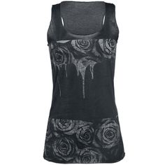 Roses Drops - Top by Outer Vision