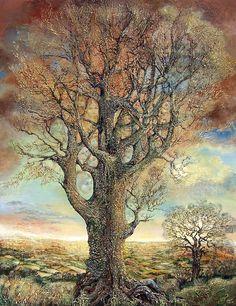 """Mystical Tree 2"" par Josephine Wall"