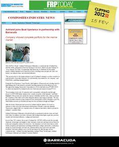 ::Composites Industry::  Acesse o link da matéria  http://www.compositesindustry.com/Feb12%20Ashland%20joins.html