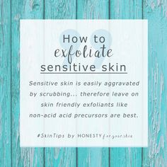 Don't worry my friend, if you have sensitive skin you can still exfoliate it to get that sought after dewy glow. How you exfoliate sensitive skin is different from normal skin types. Learn all here... #SkinCareRoutineFor20S
