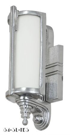 Another affordable Art Deco sconce; yay!