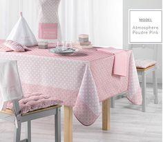Moderný ružový obrus do jedálne Tissue Holders, Vanity Bench, Bassinet, Bed, Furniture, Polyester, Home Decor, Napkins, Table Toppers