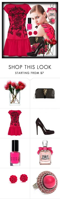 """""""Untitled #2105"""" by sugarsugar ❤ liked on Polyvore featuring Felix, LSA International, Burberry, Coast, Alejandro Ingelmo, Bobbi Brown Cosmetics, Juicy Couture and Lanvin"""