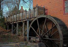 Colvin Run Mill Water Wheel | Mills | Pinterest