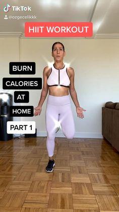 Fitness Workouts, Hiit Workout Videos, Full Body Hiit Workout, Cardio Workout At Home, Gym Workout For Beginners, Gym Workout Tips, Fitness Workout For Women, Weight Loss Workout Plan, Butt Workout