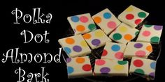 Love This Rainbow Polka Dot Almond Bark September 5, 2016October 11, 2016 sue Candy ... Bark , Fudge And MoreHalloween Comments Off!