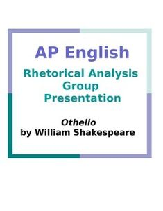 ap english rhetorical analysis essay college board Ap english language and composition student samples (2016 visit the college board on the web: wwwcollegeboardorg essays earning a score of 8 effectively analyze.