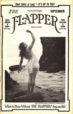The Flapper Magazine with Mack Sennett Beauty, Harriet Hammond 1922