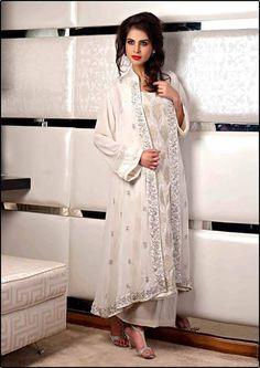 White Pakistani Suit